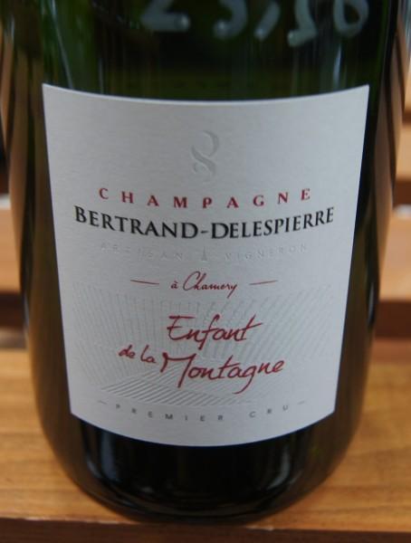 Bertrand-Delespierre Enfant de la Montagne 1er cru Flaschengärung