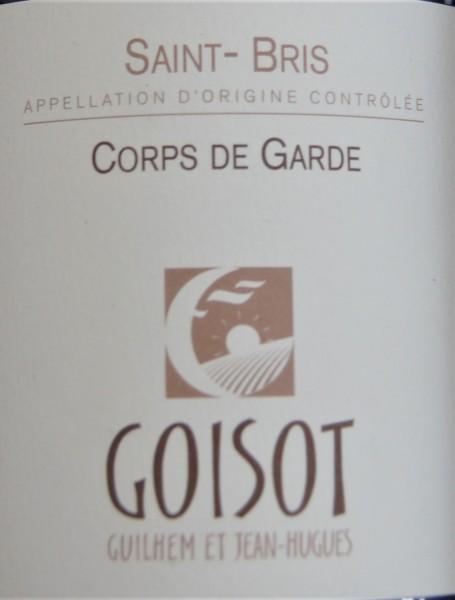 2018 Cuvee Corps de Garde Saint Bris Domaine G. et J.-H. Goisot