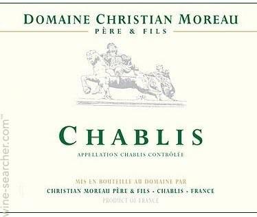 Chablis Christian Moreau, Blanc 2019
