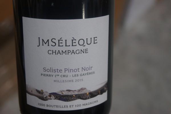 Soliste Pinot Noir Pierry 1er Cru Les Gáyeres