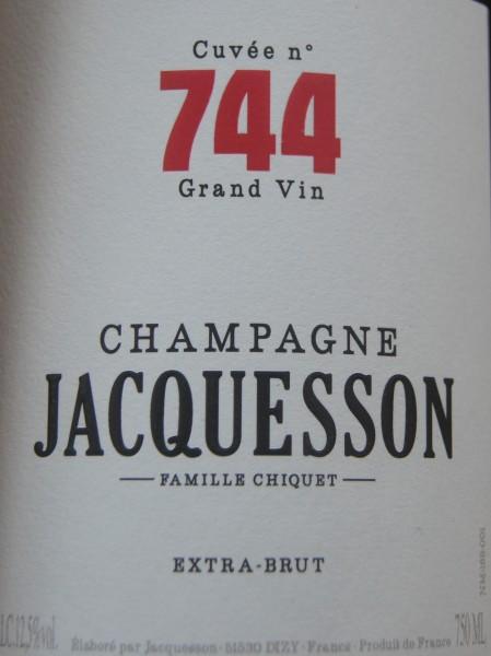 JACQUESSON CUVEE 744