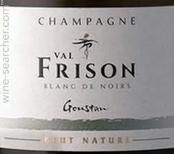 Val Frison 'Goustan' Blanc de Noirs Brut Nature