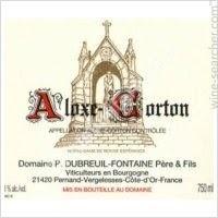 Aloxe-Corton 2019 Rouge Dubreuil Fontaine