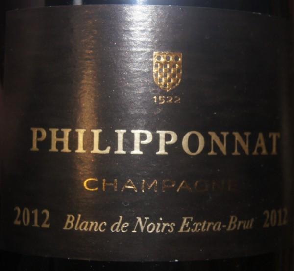 Champagne Philipponat Blanc de Noir Extra brut 2012