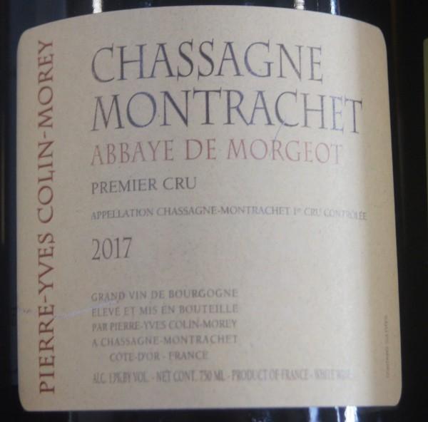 Chassagne Montrachet L'Abbaye de Morgeot 2018