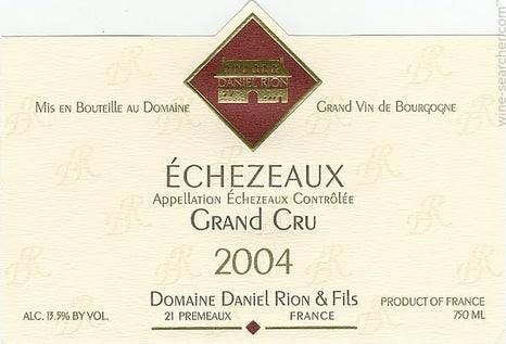 Echezeaux 2018 Grand Cru, Daniel Rion