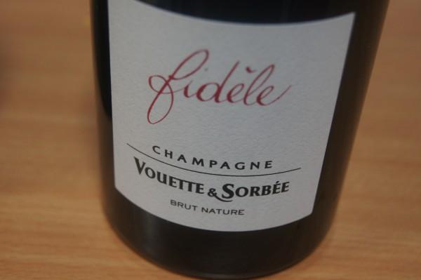 Champagne Fidèle Brut nature Flaschengärung