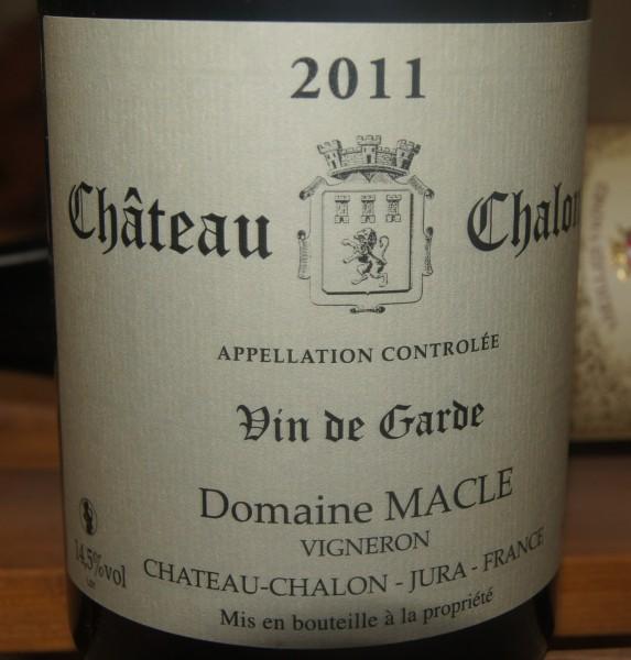 Château Chalon 2011 Vin de Garde