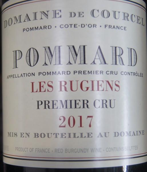 Pommard 1er Cru Les Rugiens 2017 Domaine de Courcel