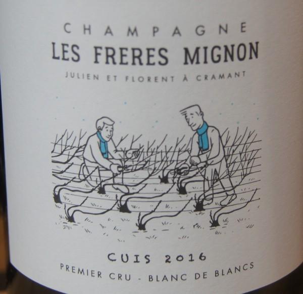 Champagne Extra Brut Cuis Blanc de Blancs Les Freres Mignon