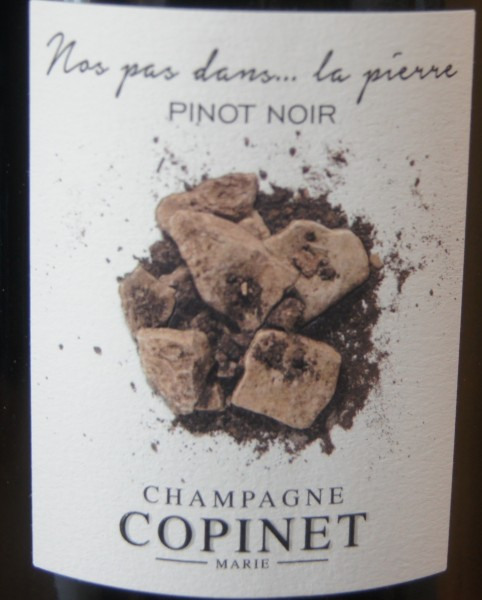 Nos pas dans...la pierre Pinot Noir Marie Copinet Brut nature