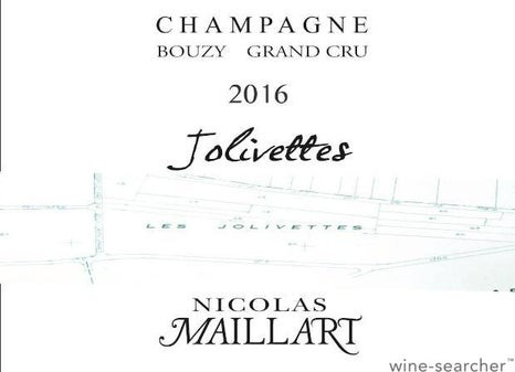 Champagne Nicolas Maillart Jolivettes Bouzy Grand Cru