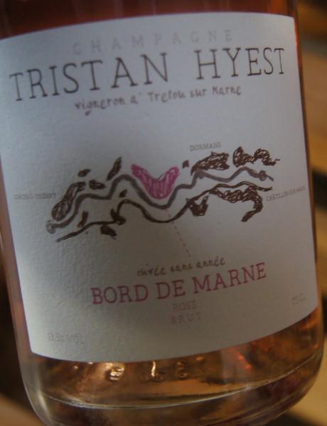 Champagne Tristan Hyest Bord de Marne Rosé