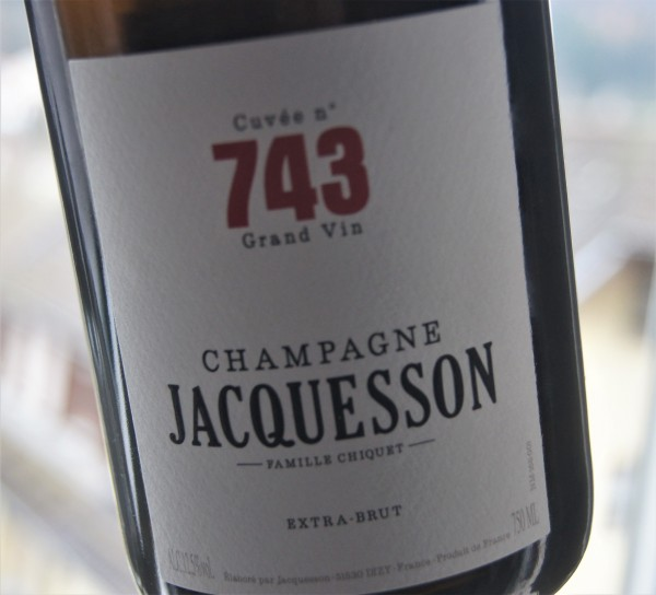 Jacquesson Champagne Extra Brut Cuvee 743
