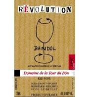 Bandol rouge revolution Domaine La tour du Bon 2015