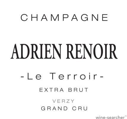Champagne Adrien Renoir Le Terroir Extra-Brut Verzy Grand cru