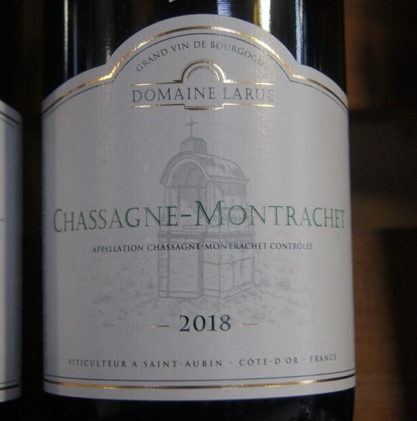 Chassagne Montrachet Blanc 2018 Domaine Larue