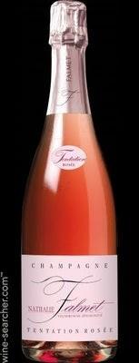 """Champagne Brut Rose De Saignee """"tentation Rose, Nathalie Falmet"""