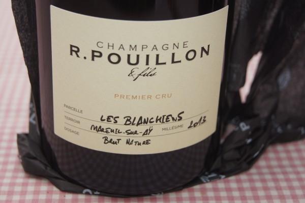 Champagne Blanchein 2013
