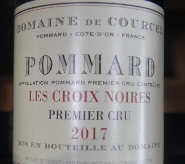 Pommard 1er Cru Les Croix Noires 2017 Domaine de Courcel