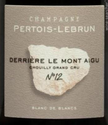 Pertois Lebrun derriere le mont aigue choully grand cru blanc de champagne extra brut