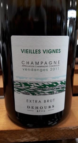 Vieilles Vigne Vendange 2011 Extra brut Dehours