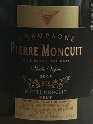 Pierre Moncuit Cuvee Nicole Moncuit Vieille Vigne 2006