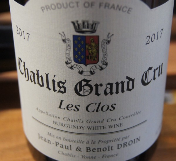 Chablis 2017 Les Clos Grand Cru