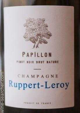 Champagne Ruppert Leroy Papillon Blanc de Noirs Brut Nature 2018