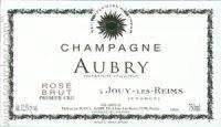 Champagne Aubry Rose Brut 1er Cru
