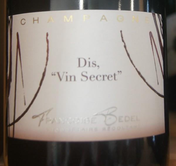 Dis Vin Secret Extra Brut Bedel