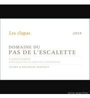 Les Clapas blanc Vin de Pays de l'Hérault 2019