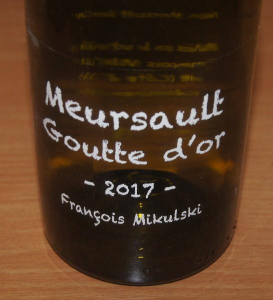 Meursault 1er Cru Goutte d'Or 2017