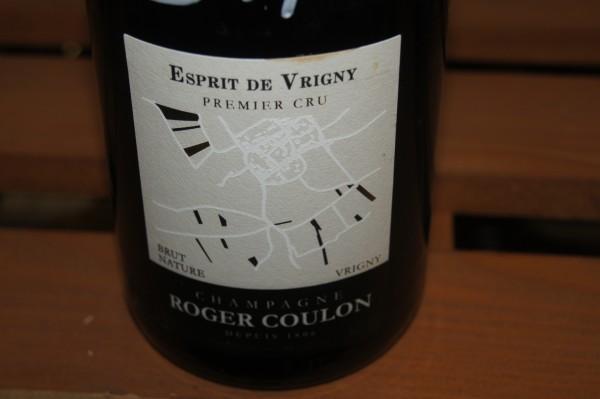 Roger Coulon Esprit de Vrigny 1er Cru