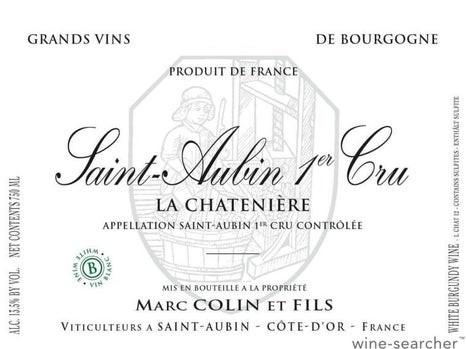 Saint Aubin La Chateniere Blanc 2018 Domaine Marc Colin et ses Fils