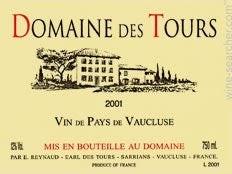 Rayas Domaine des Tours Rouge, IGP Vaucluse 2016