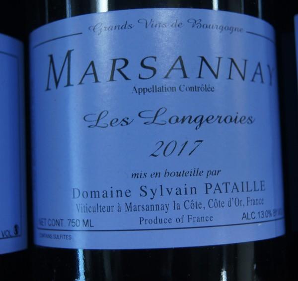 Sylvian Pataille Marsannay Longeroies 2017