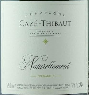 Caze-Thibault Naturellement Extra-Brut Pinot Meunier 2016