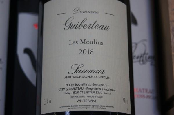 Saumur Les Moulins 2019 Blanc