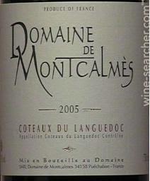 Domaine de Montcalmès : Terrasses du Larzac 2017