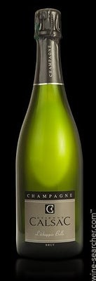 Champagne 'L'Echappee Belle' Extra Brut, Etienne Calsac