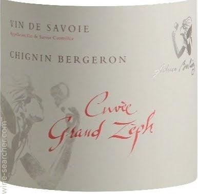 Chignin-Bergeron 'Cuvee Grand Zeph' 2018 Adrien Berlioz Weißwein