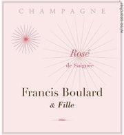 Rosé de Saignée 2012 Extra Brut Francis Boulard