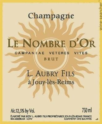 Champagne Aubry Le Nombre d'Or Campanae Veteres Vites Brut