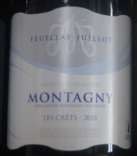 MONTAGNY 18 GRAPPES D'OR FEUILLAT